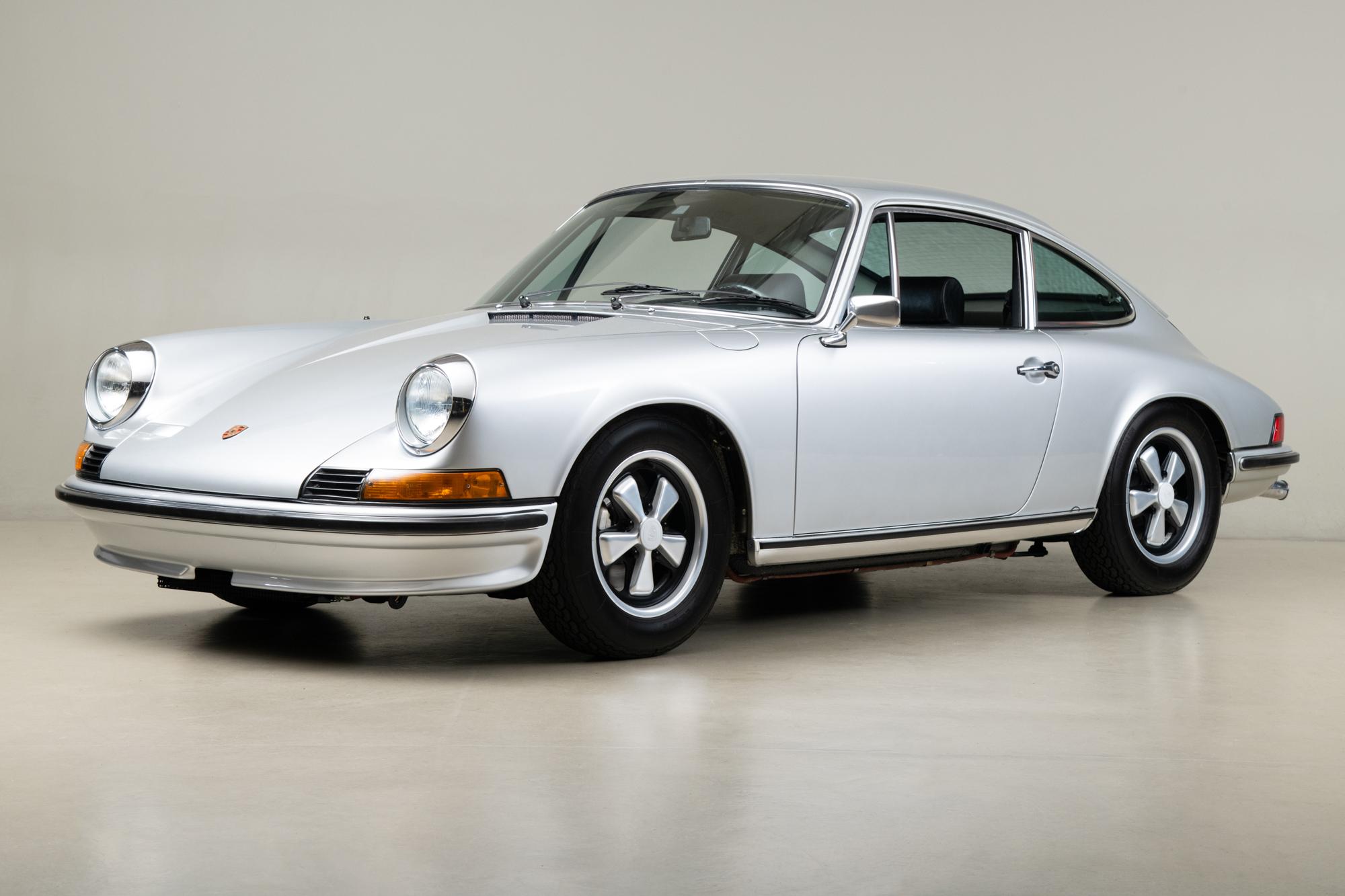 1973 Porsche 911S , SILVER METALLIC, VIN 9113300811, MILEAGE 20811