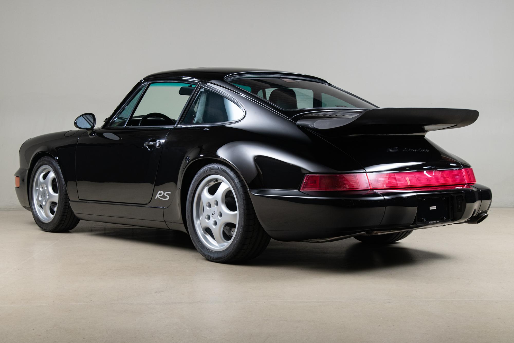 1994 Porsche 964 RS America , BLACK, VIN WP0AB2961RS419090, MILEAGE 65255