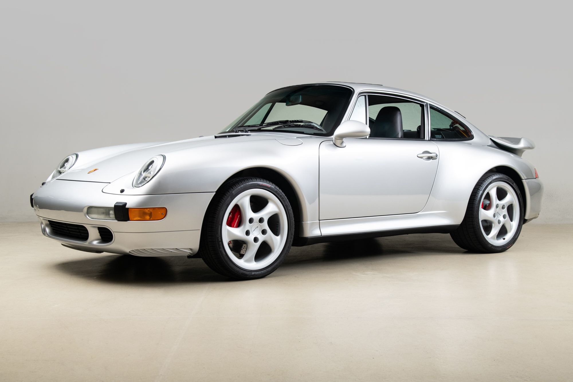 1997 Porsche 993 Turbo , ARCTIC SILVER METALLIC, VIN WP0AC2992VS375375, MILEAGE 16559
