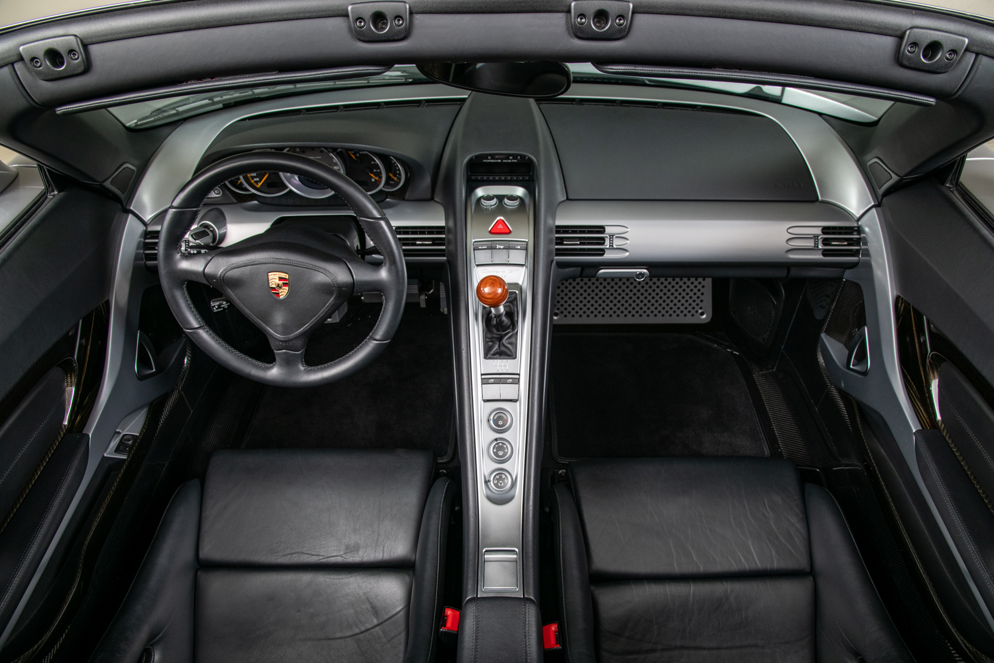 2004 Porsche Carrera GT , SILVER, VIN WP0CA29864L001172, MILEAGE 1992