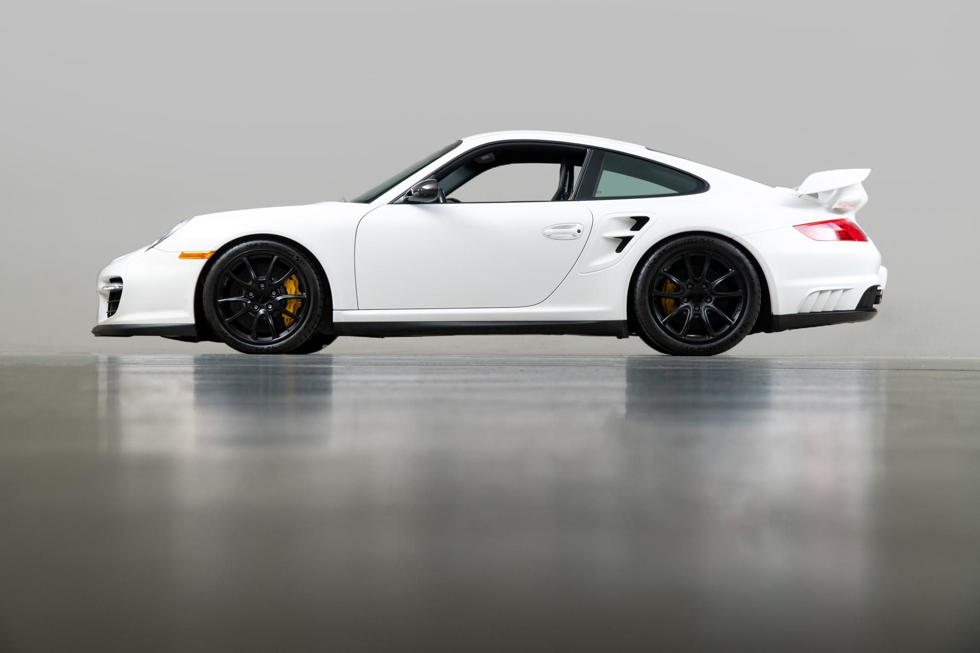 2008 Porsche GT2 , WHITE, VIN WP0AD29928S796255, MILEAGE 6817