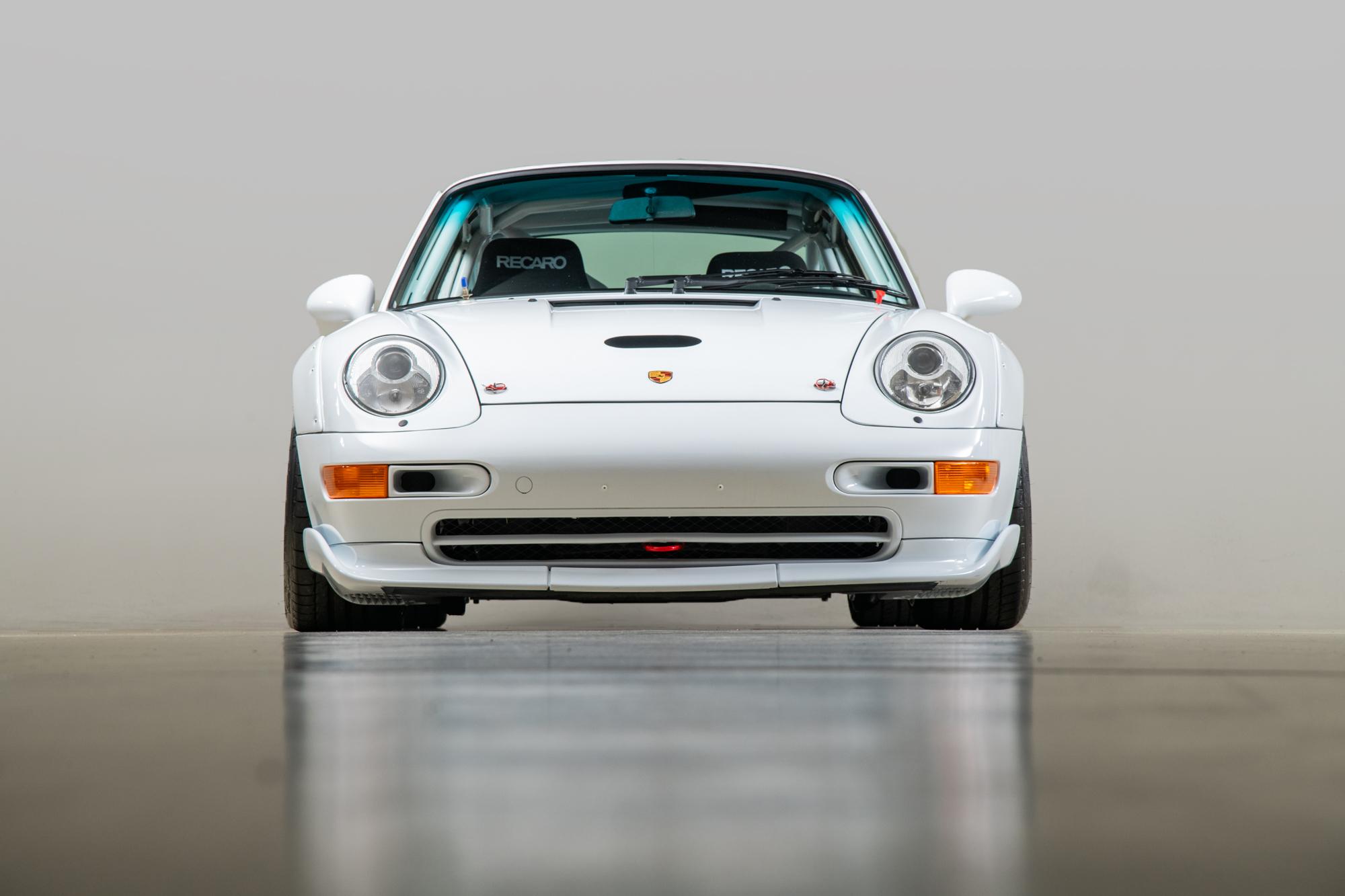 1997 Porsche 993 Cup 3.8 RSR , GLACIER WHITE, VIN WP0ZZZ99ZVS398077, MILEAGE 6568