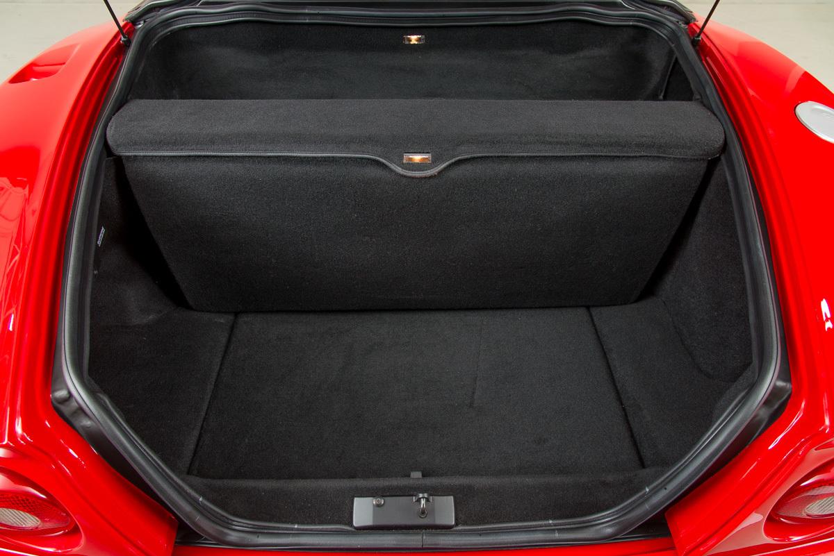 2001 Ferrari 550 Barchetta , RED, VIN ZFFZR52A810124357, MILEAGE 1890