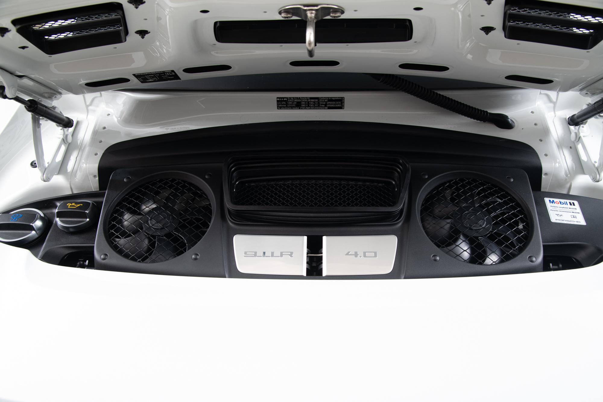 2016 Porsche 911R , WHITE, VIN WP0AF2A94GS195336, MILEAGE 874