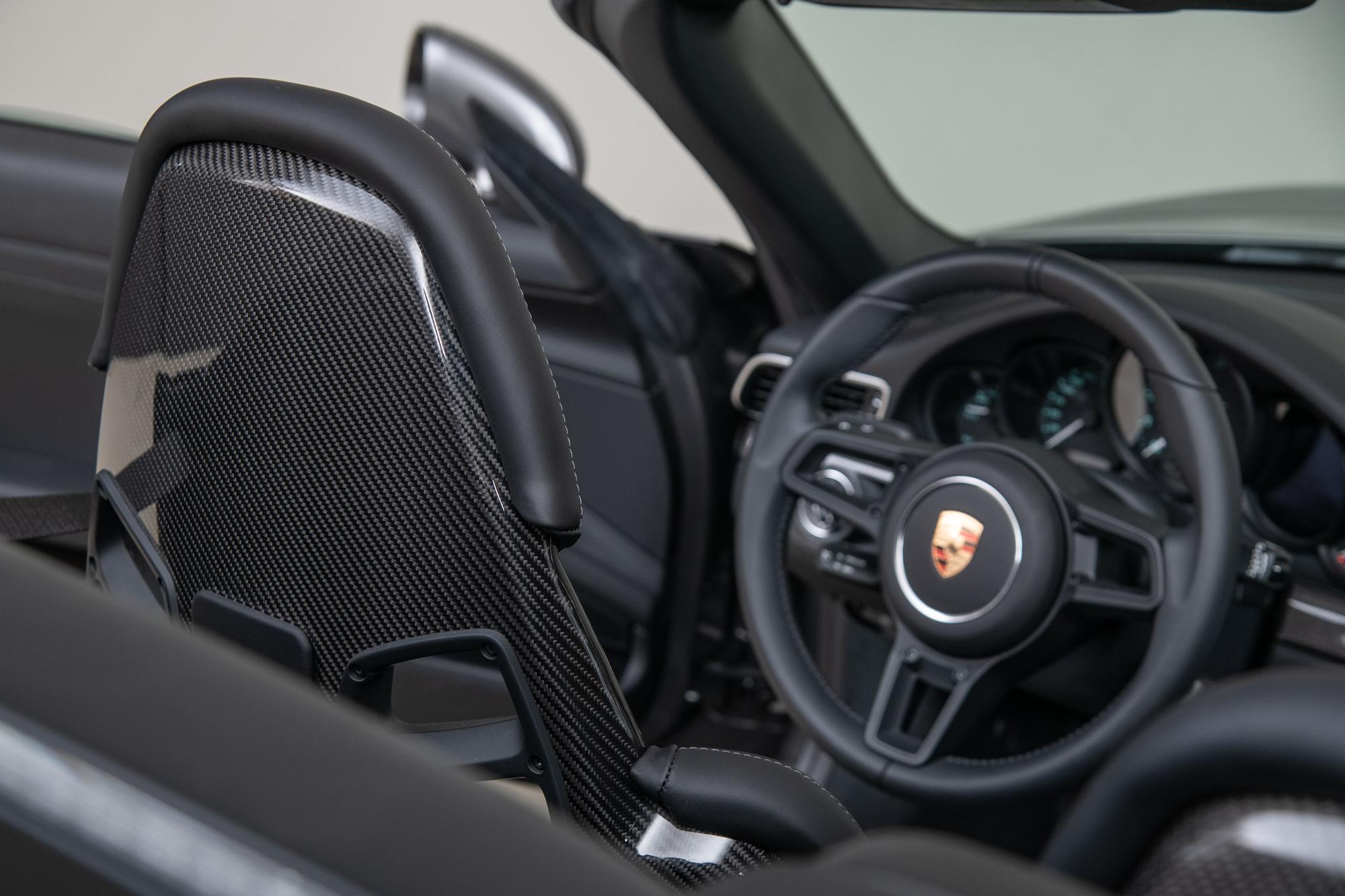2019 Porsche 911 Speedster , AGATE GRAY METALLIC, VIN WP0CF2A99KS172202