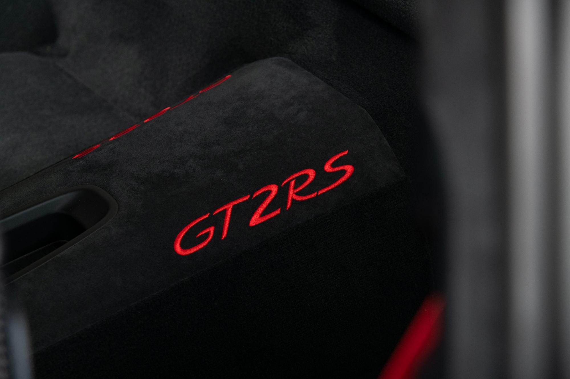 2018 Porsche GT2RS , SILVER, VIN WP0AE2A99JS185105, MILEAGE 263