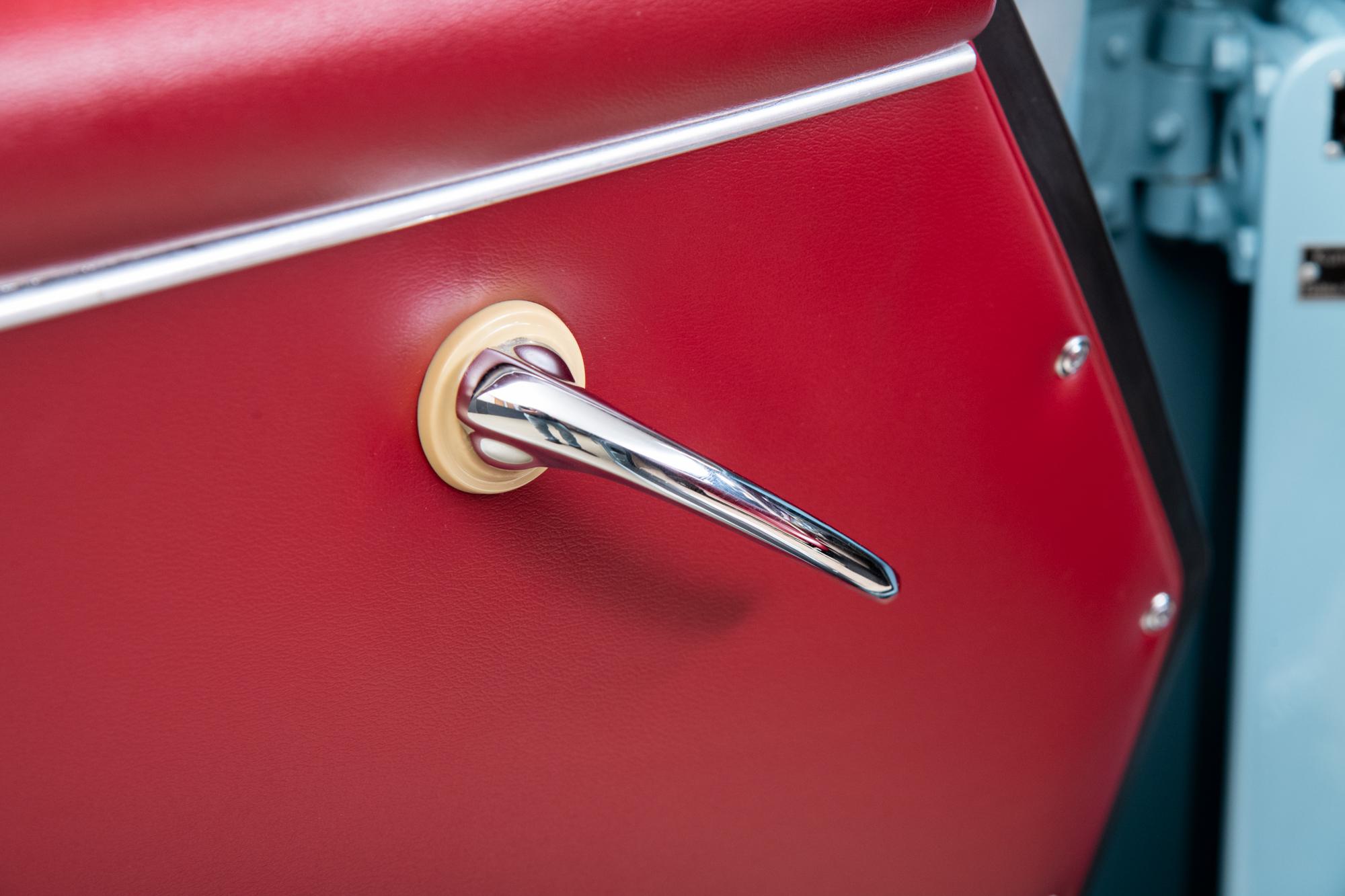 1958 Porsche 356 Speedster , MEISSEN BLUE, VIN 84095, MILEAGE 905