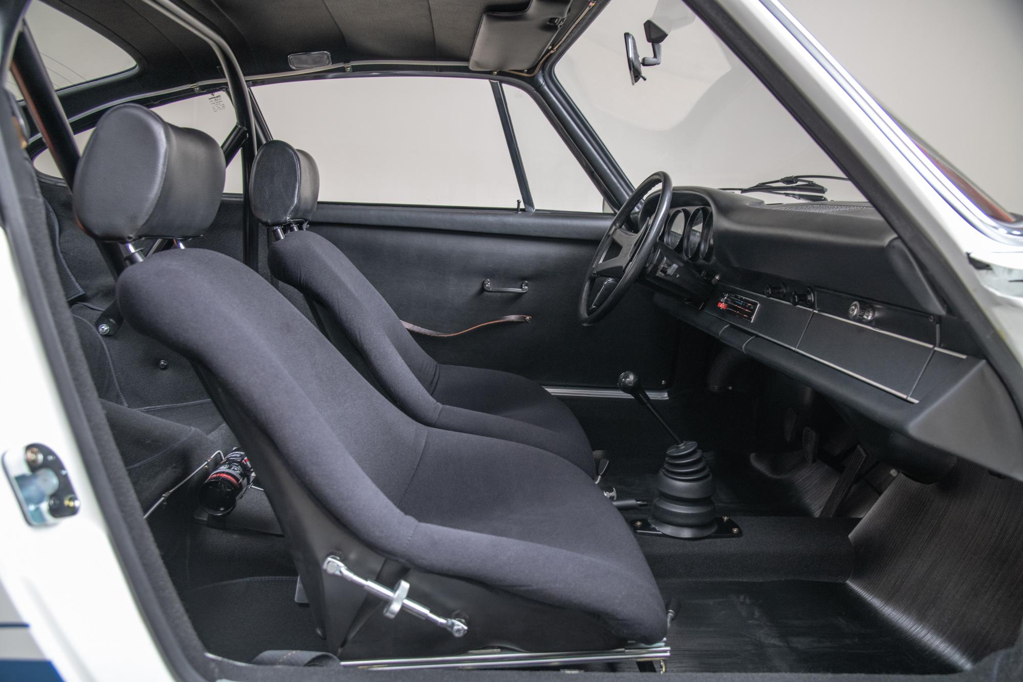 1973 Porsche 911 RS , WHITE, VIN 9113600284, MILEAGE 6575
