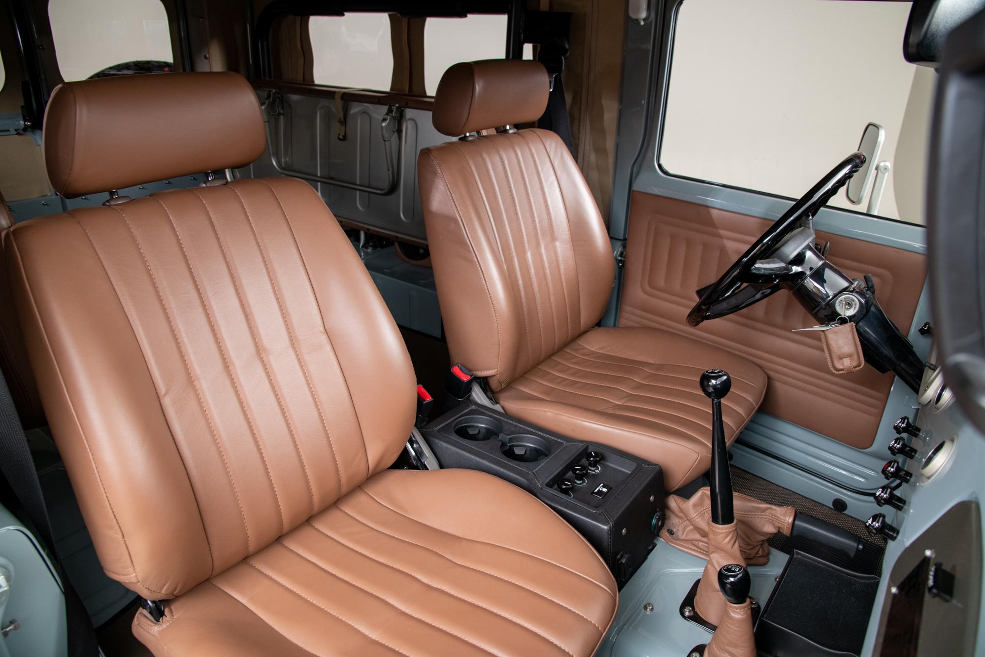 1979 Toyota FJ43 Land Cruiser , HEATH GRAY, VIN FJ4359705, MILEAGE 1819