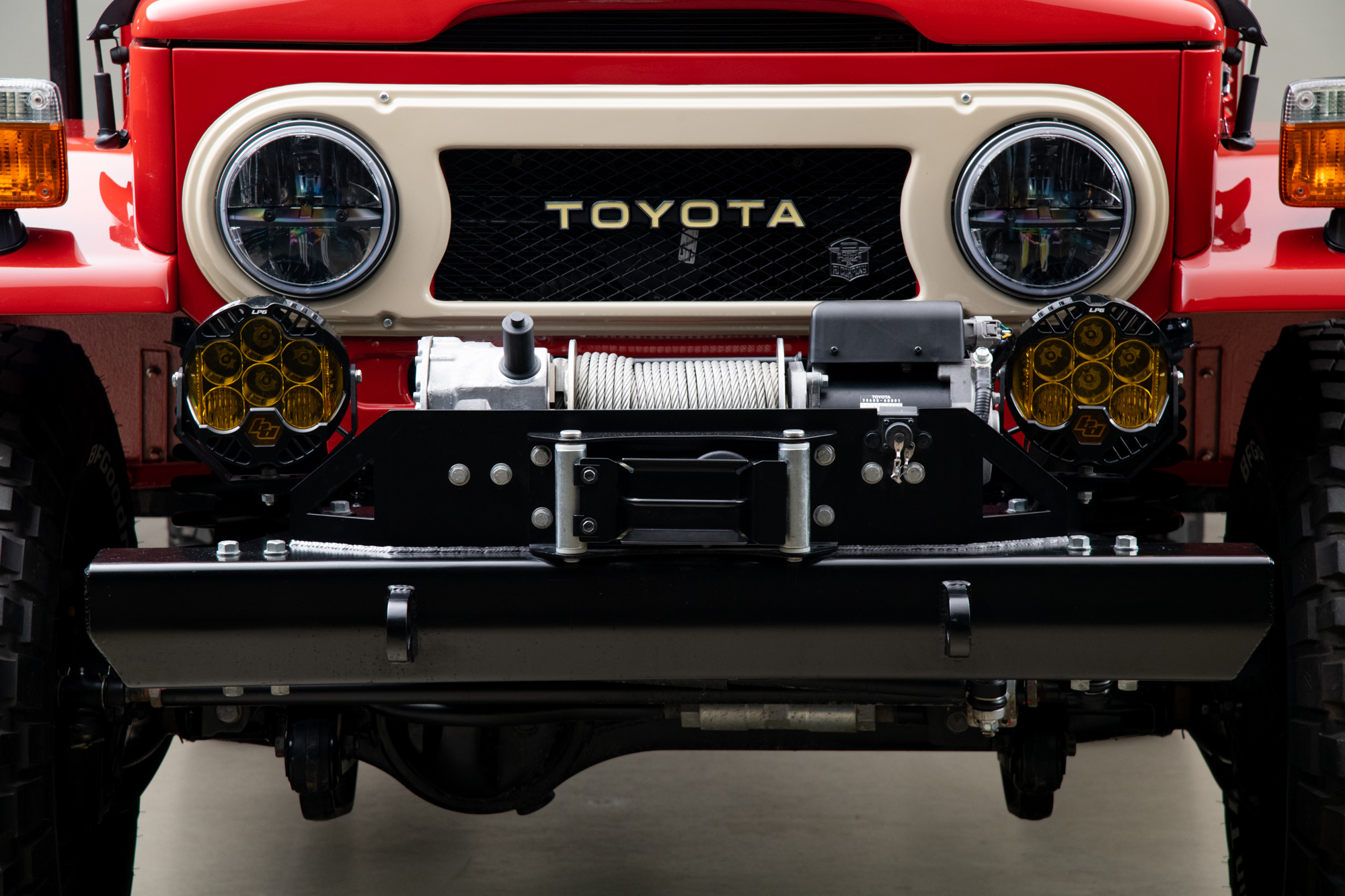1976 Toyota FJ43 Land Cruiser , FREEBORN RED, VIN FJ43-42370, MILEAGE 1471