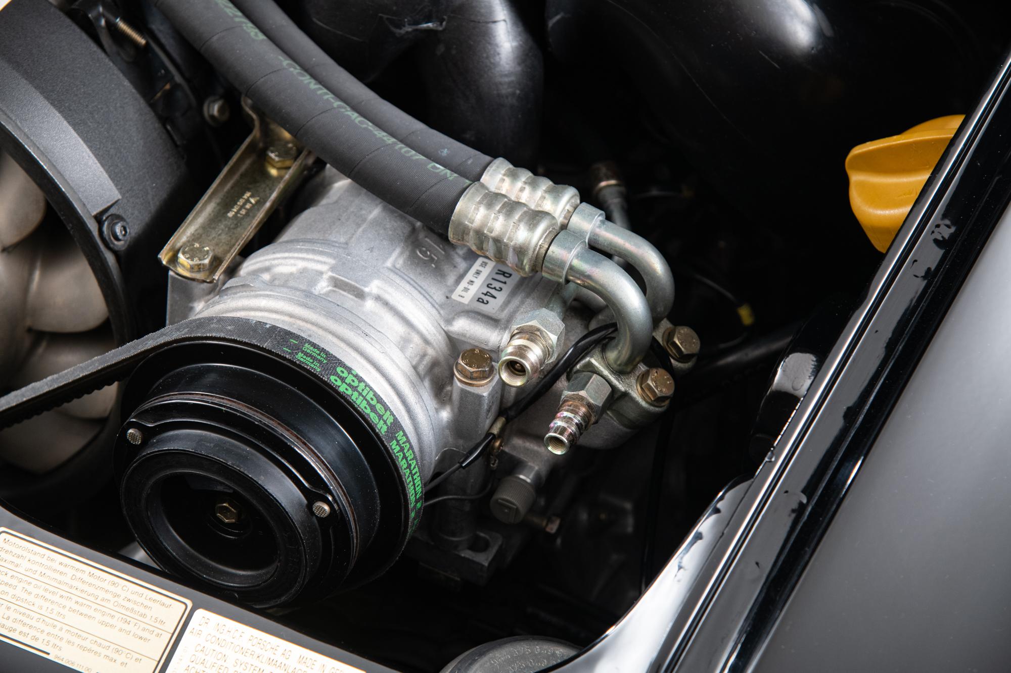 1994 Porsche 964 RS America , BLACK, VIN WP0AB2961RS419090, MILEAGE 65375