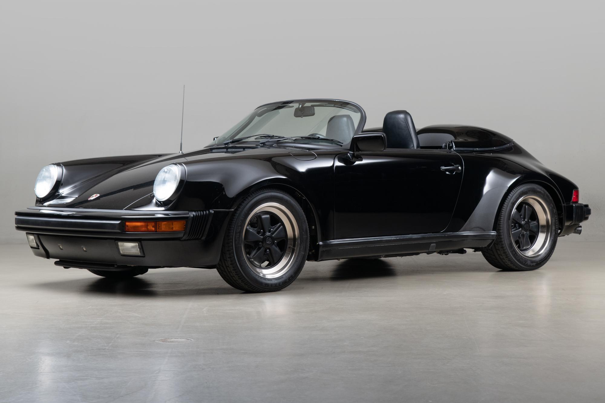 1989 Porsche Speedster , BLACK, VIN WP0EB0913KS173806, MILEAGE 13122
