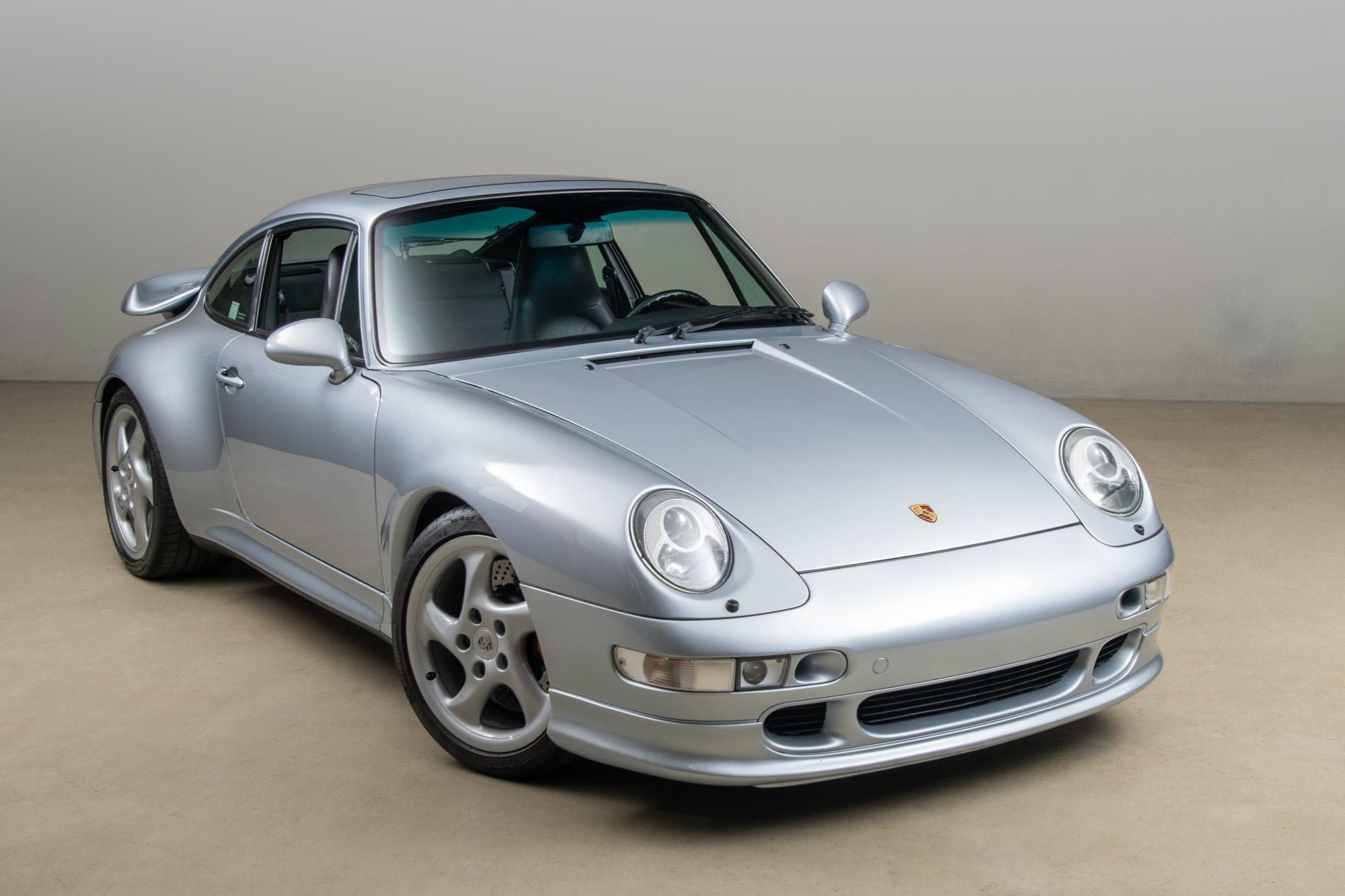 1996 ANDIAL Porsche 993 Turbo , POLAR SILVER, VIN WP0AC2990TS375274, MILEAGE 33493