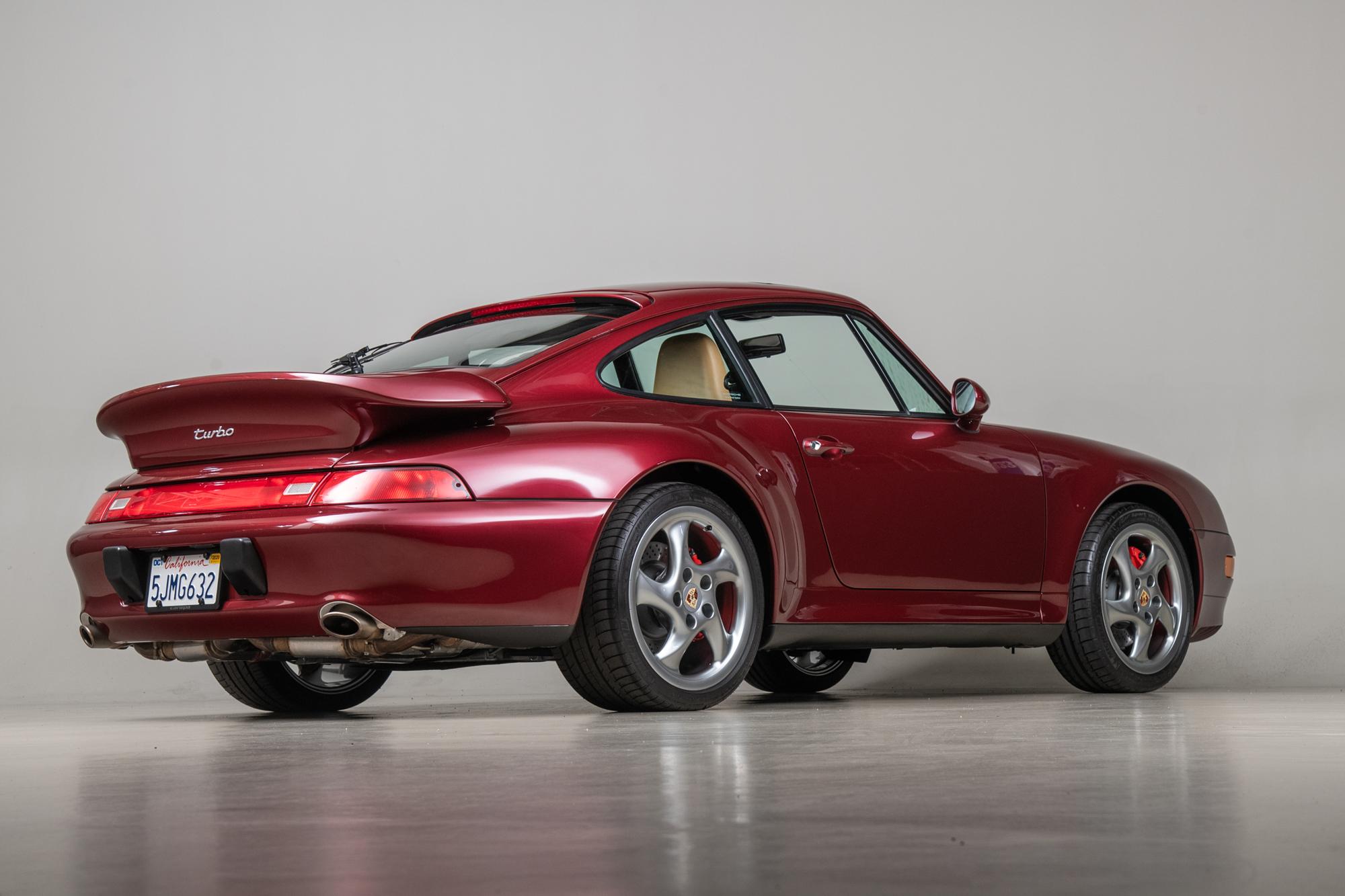 1996 Porsche 993 Turbo , ARENA RED METALLIC, VIN WP0AC299XTS376349, MILEAGE 45188