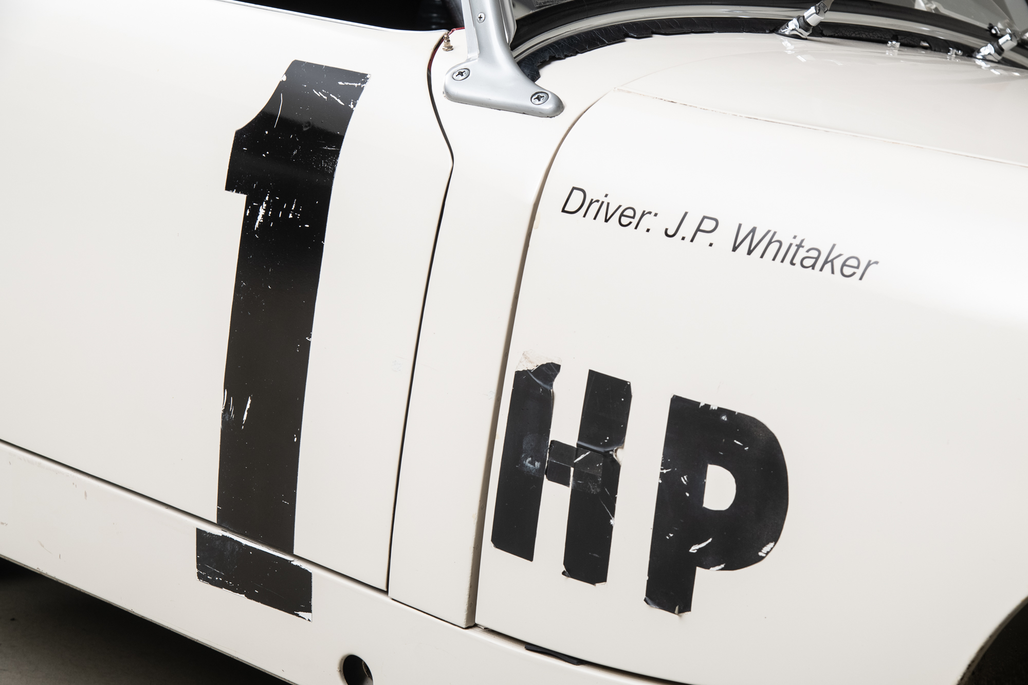 1959 Austin-Healey Sprite , WHITE, VIN AN5L9010, MILEAGE 19501