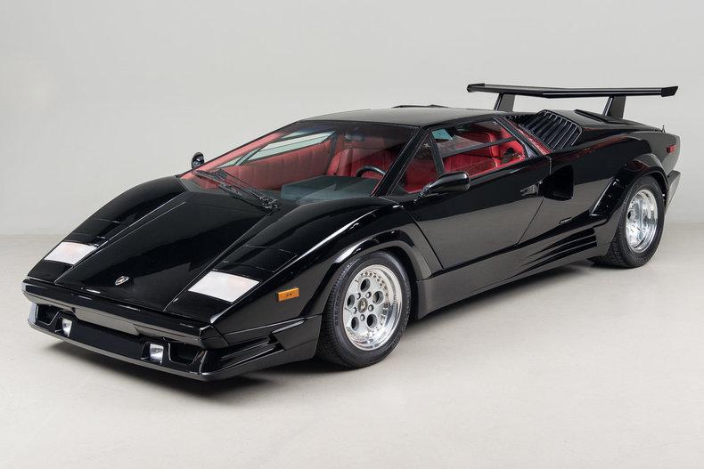 1989 Lamborghini Countach 25th Anniversary Edition_5047