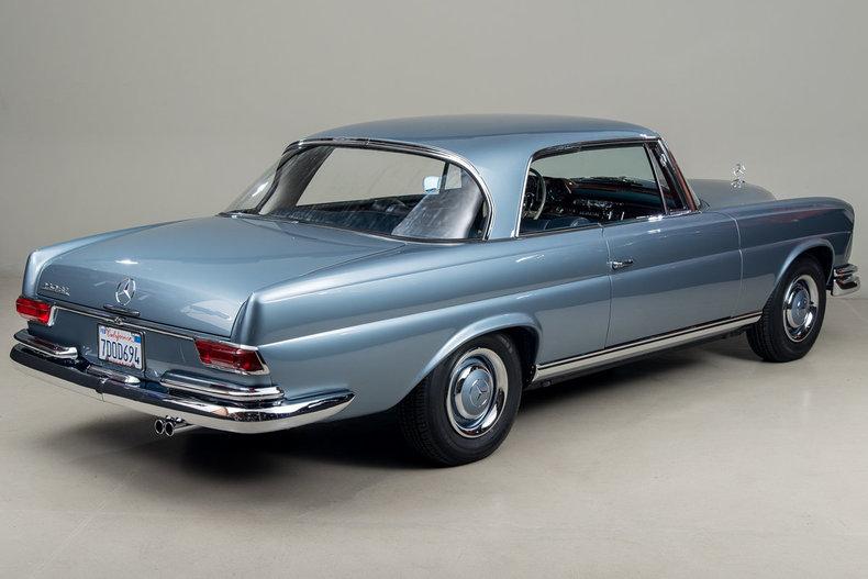 1966 Mercedes-Benz 250 SE,  BLUE, VIN 111021-10-085193, MILEAGE 13800