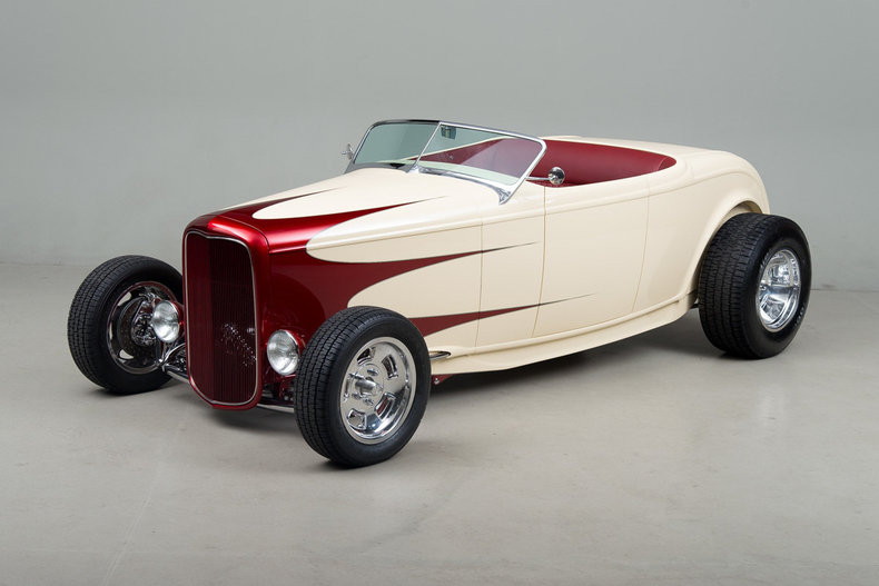 1932 Ford Roadster Hot Rod_5210