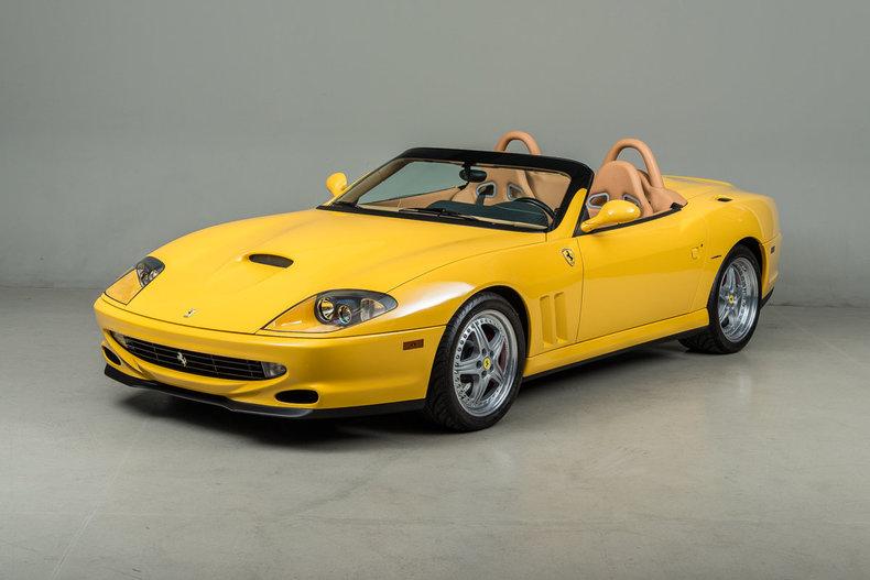 2001 Ferrari 550 Barchetta Pininfarina_5251
