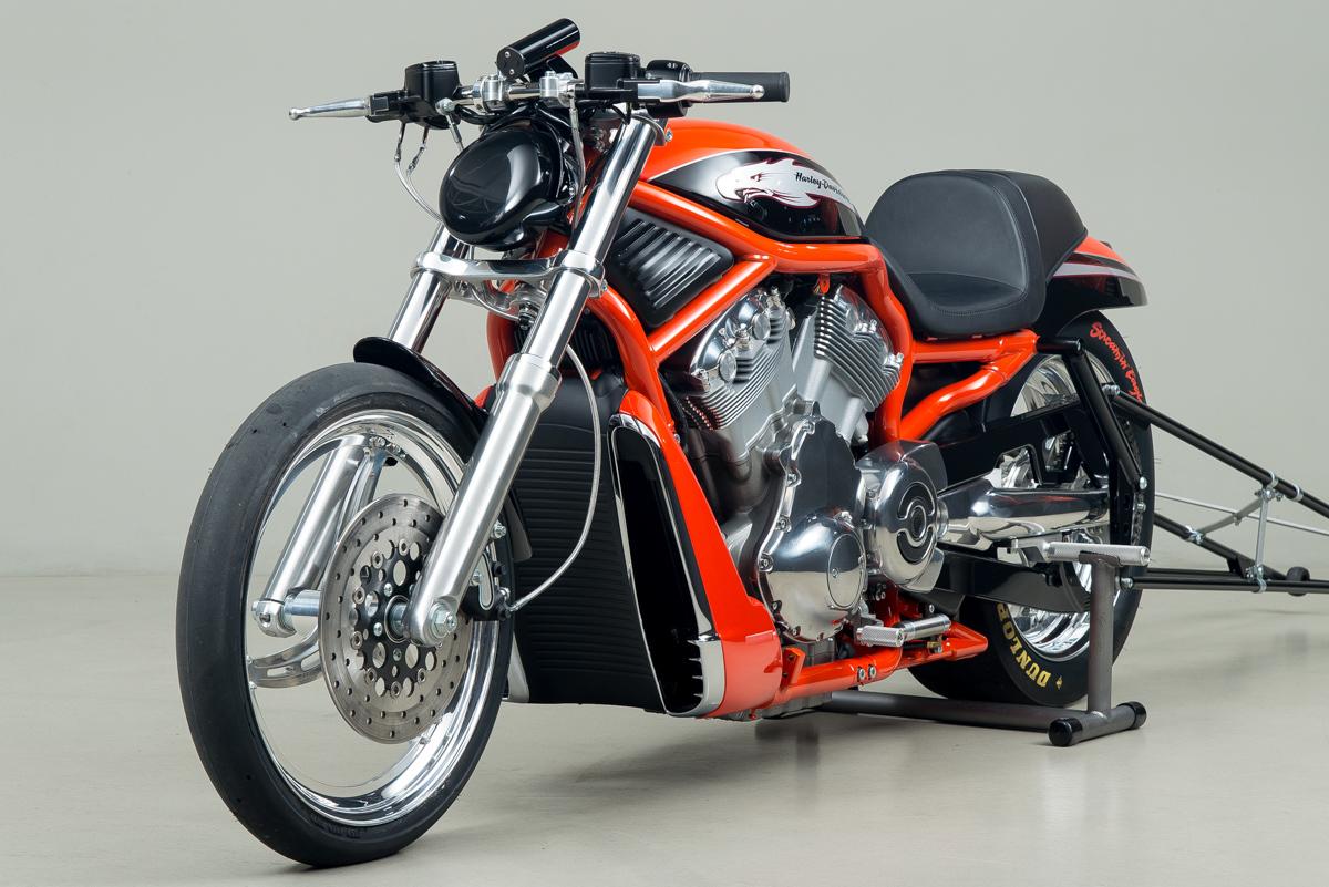 2006 Harley-Davidson VRXSE Screamin Eagle Destroyer , ORANGE, VIN HDR7RC