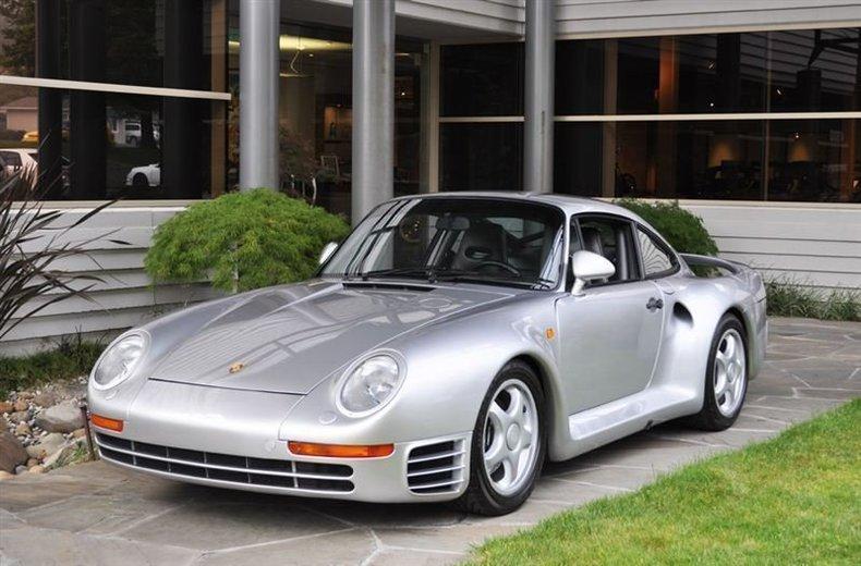 1987 Porsche 959 Silver_4256V