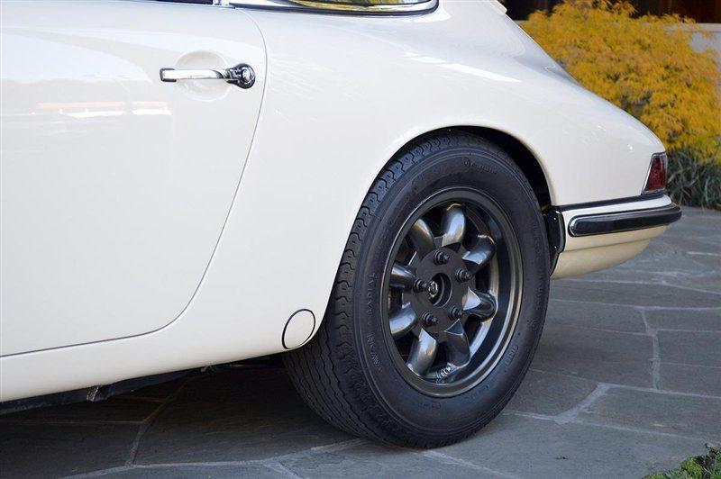 1967 Porsche 911 S, WHITE, VIN 306556S, MILEAGE 7613