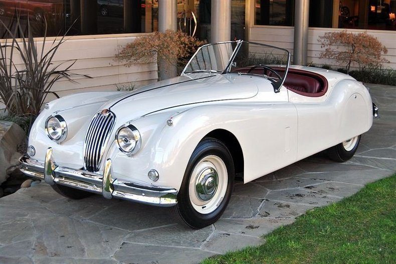 1957 jaguar xk140 roadster for sale 21187 mcg