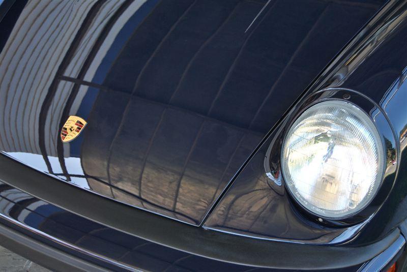 1987 Porsche 911 Carrera, BLUE, VIN WP0AB0919HS121992, MILEAGE 24675