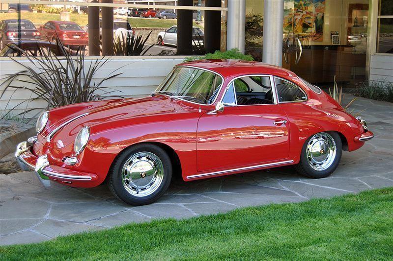1965 Porsche 356 SC, RED, VIN 219-461, MILEAGE 70785