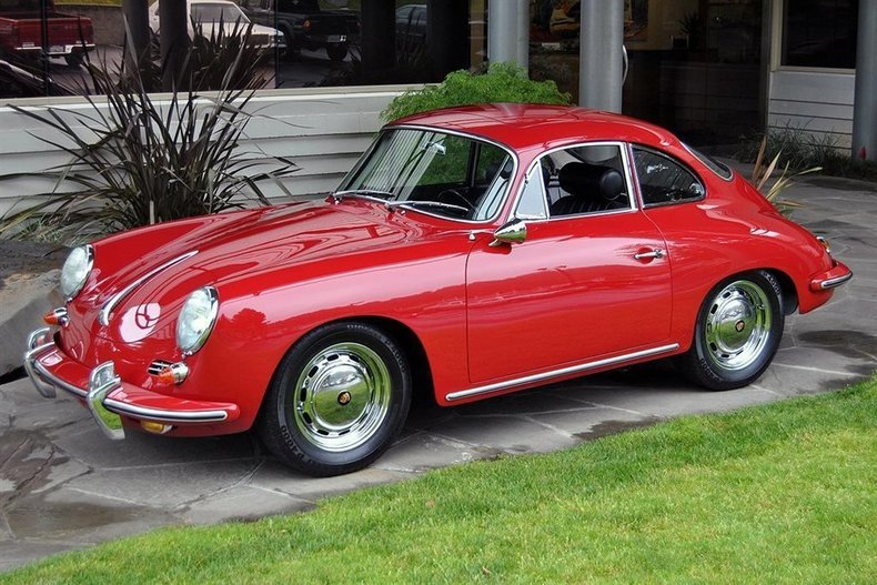 1964 Porsche 356 SC Sunroof Coupe_4709