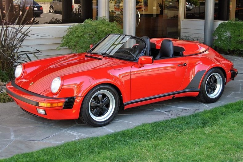 1989 Porsche 911 Speedster_4748