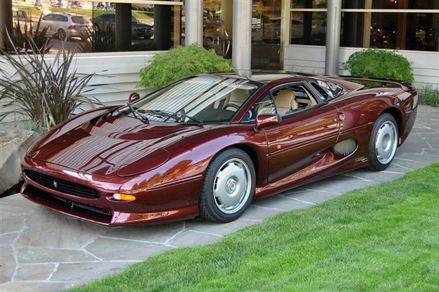 1993 Jaguar XJ Series XJ220_4525