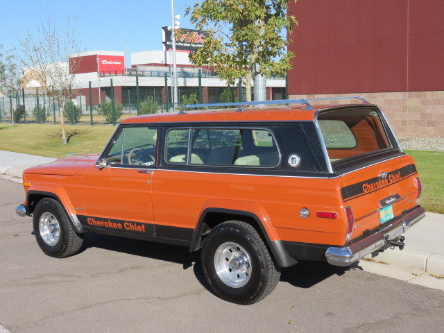 1976 Jeep Cherokee Chief Widetrack