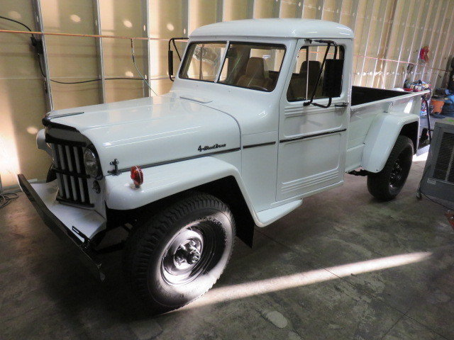 1959 Jeep Willy's 4X4 Pickup 4X4 Pickup