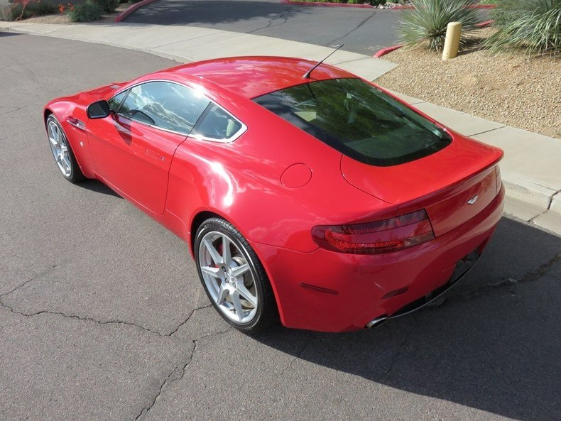 2007 2007 Aston Martin V8 Vantage Coupe For Sale