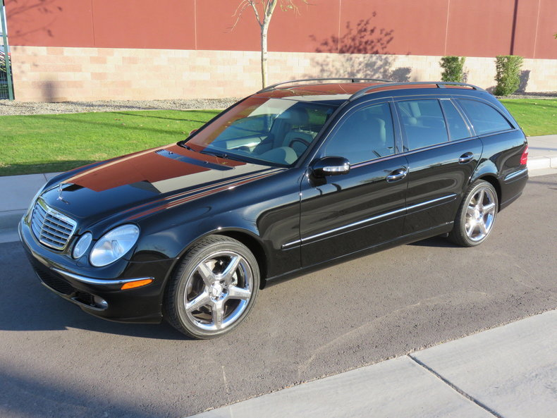 2006 Mercedes Benz E500 Touring Wagon