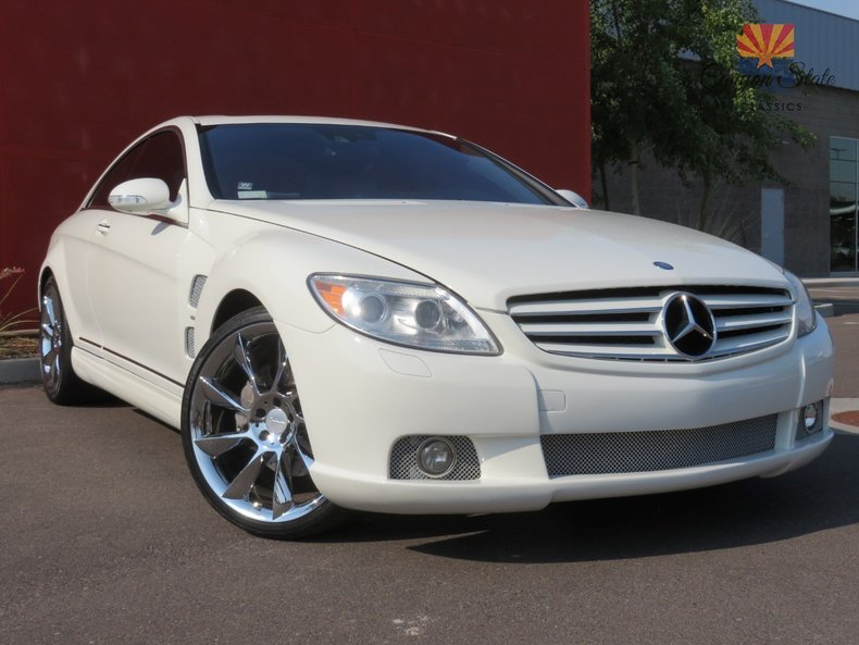 2008 mercedes benz cl550 canyon state classics for Rab motors used cars