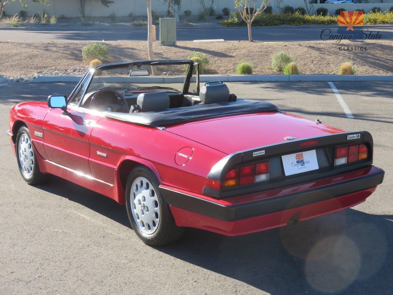 1989 Alfa Romeo Spider 2dr Convertible Quadrifoglio For Sale 69718