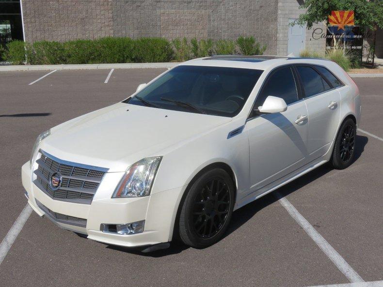 2010 Cadillac CTS Wagon  Canyon State Classics