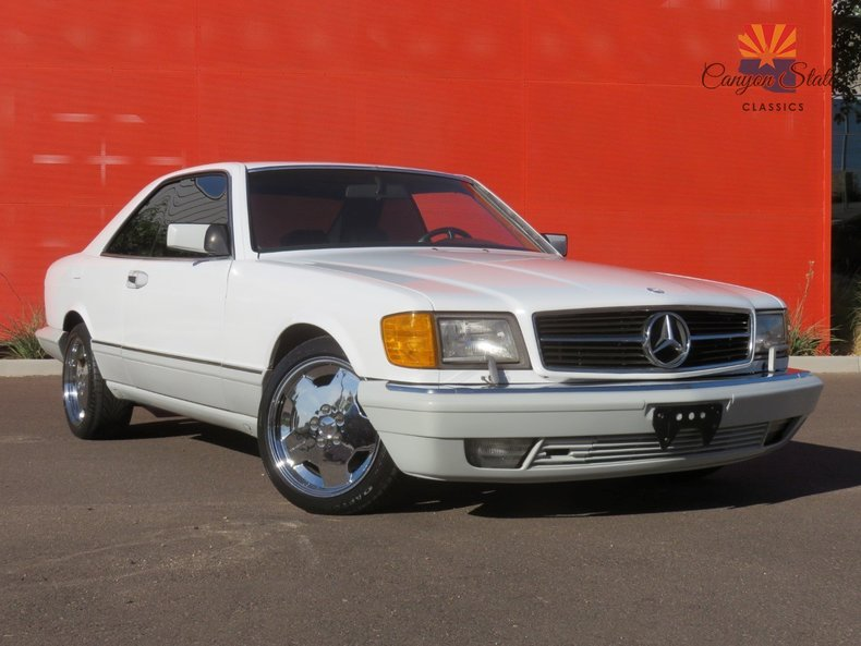 1991 mercedes benz 560 series 2dr coupe 560sec for sale for 1991 mercedes benz