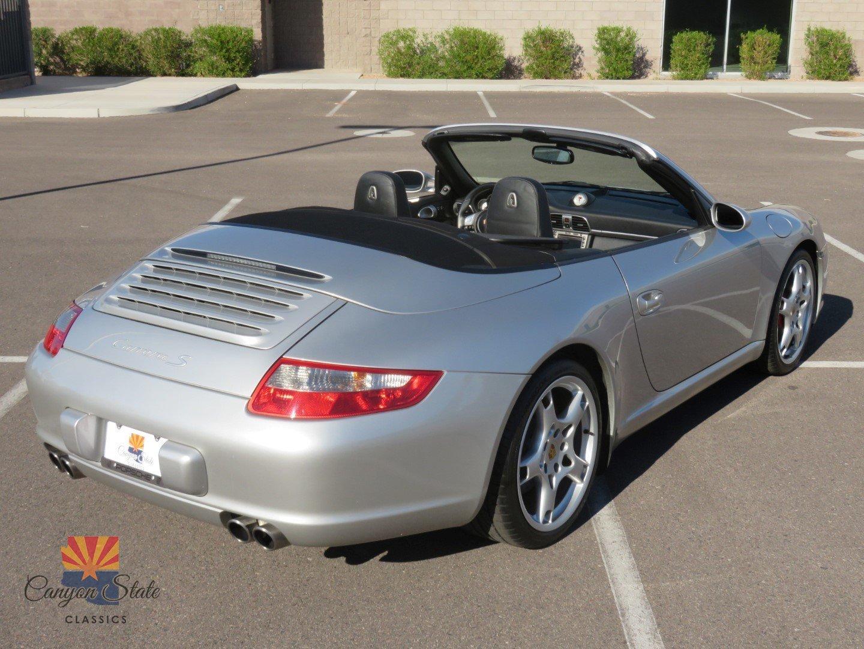 2005 porsche 911 2dr cabriolet carrera s 997 for sale 78295 mcg. Black Bedroom Furniture Sets. Home Design Ideas