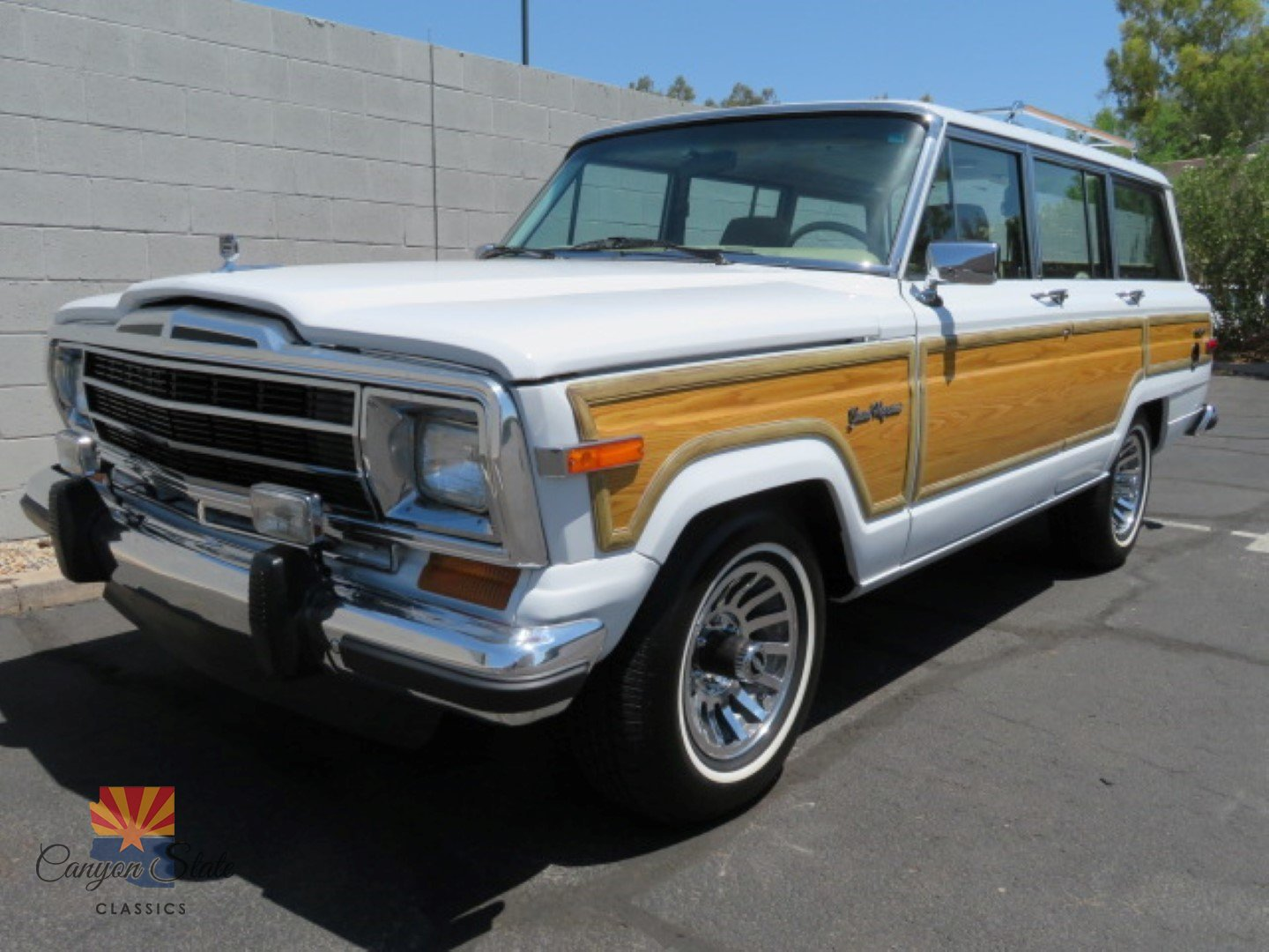 1990 jeep grand wagoneer canyon state classics. Black Bedroom Furniture Sets. Home Design Ideas
