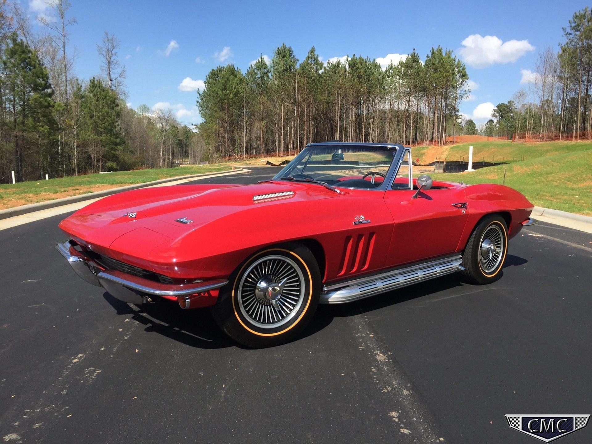 1966 Chevrolet Corvette Stingray Carolina Muscle Cars Inc Chevy