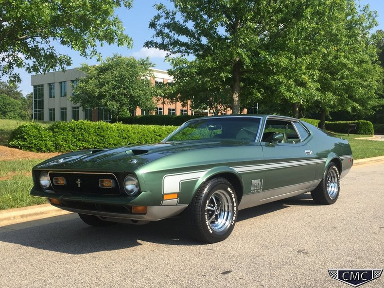 1972 Ford Mustang Mach 1 For Sale 50582 Mcg