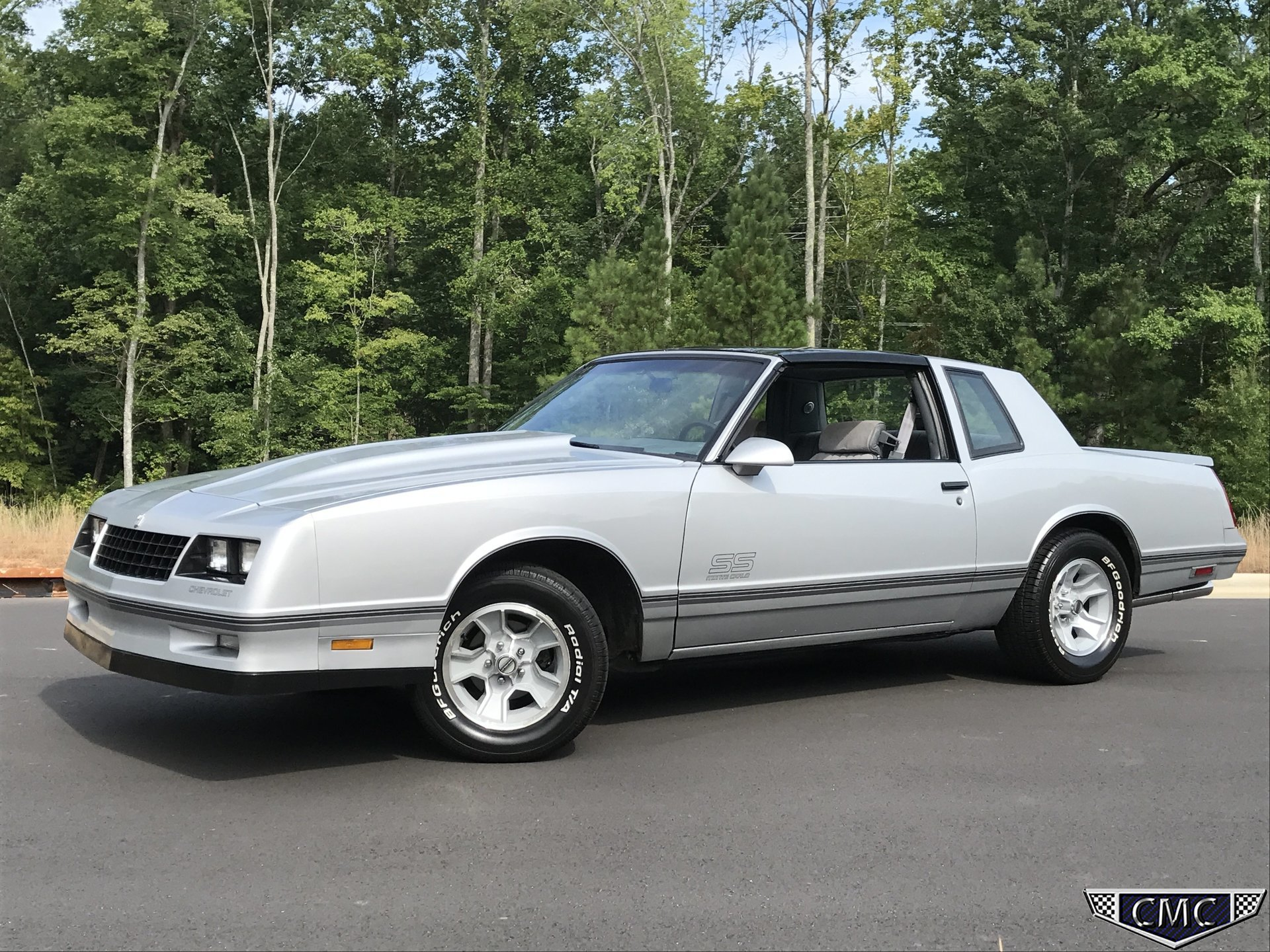 1988 chevrolet monte carlo ss for sale 63019 mcg. Black Bedroom Furniture Sets. Home Design Ideas