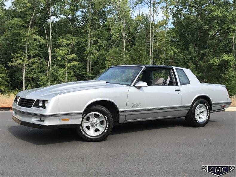1988 Chevrolet Monte Carlo Ss For Sale  63019