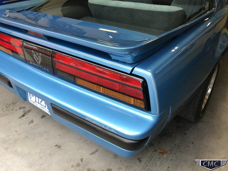 1988 1988 Pontiac Formula For Sale