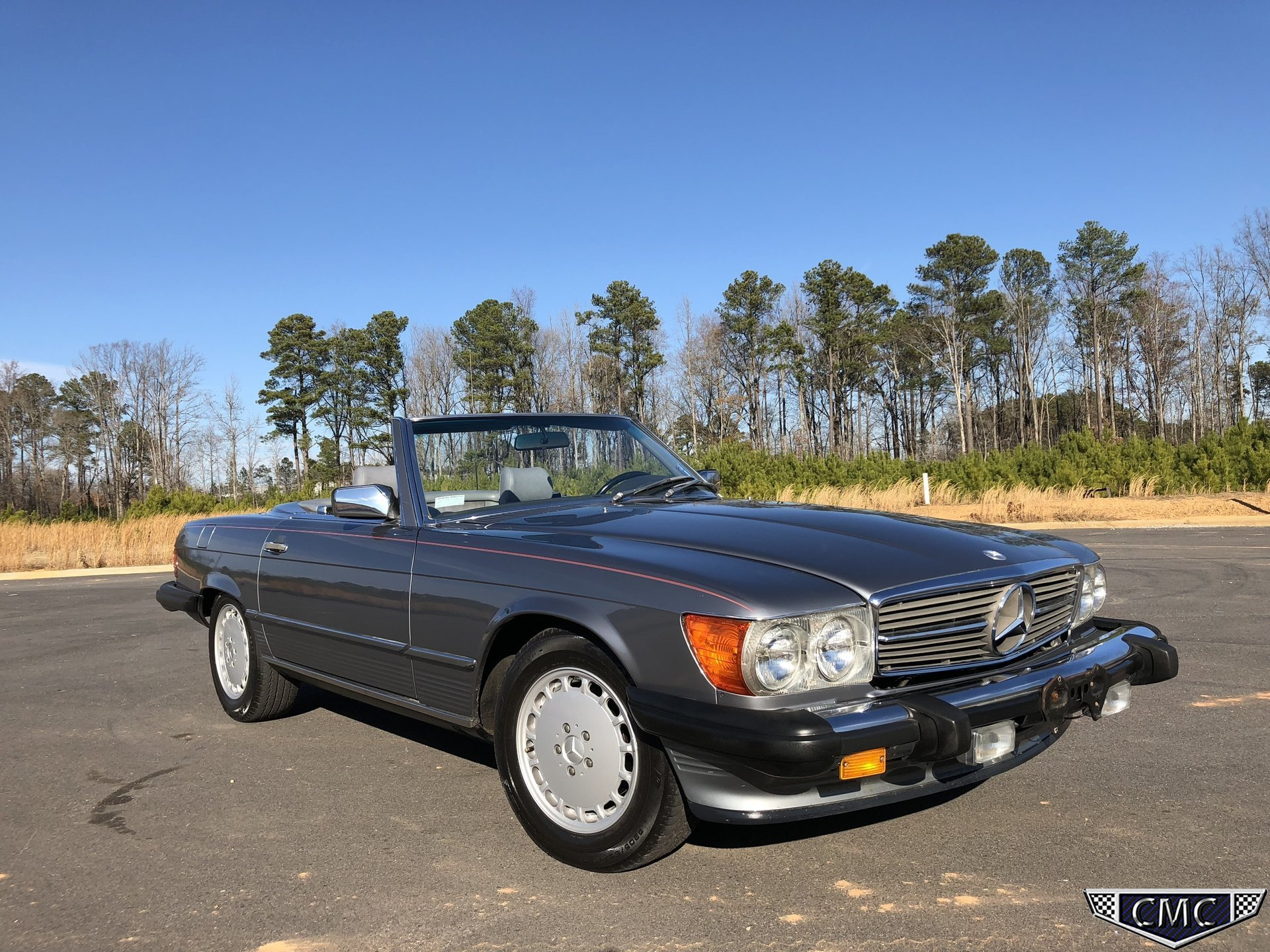 1987 mercedes benz 560 my classic garage for Mercedes benz factory tint