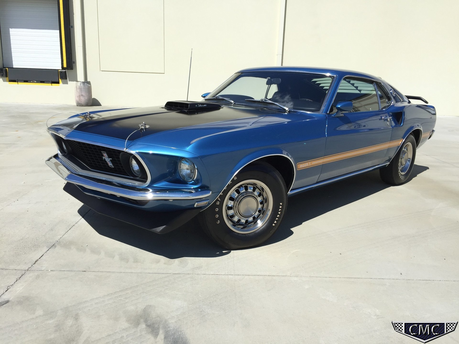 1969 Ford Mustang Carolina Muscle Cars Inc Shelby Mach 1