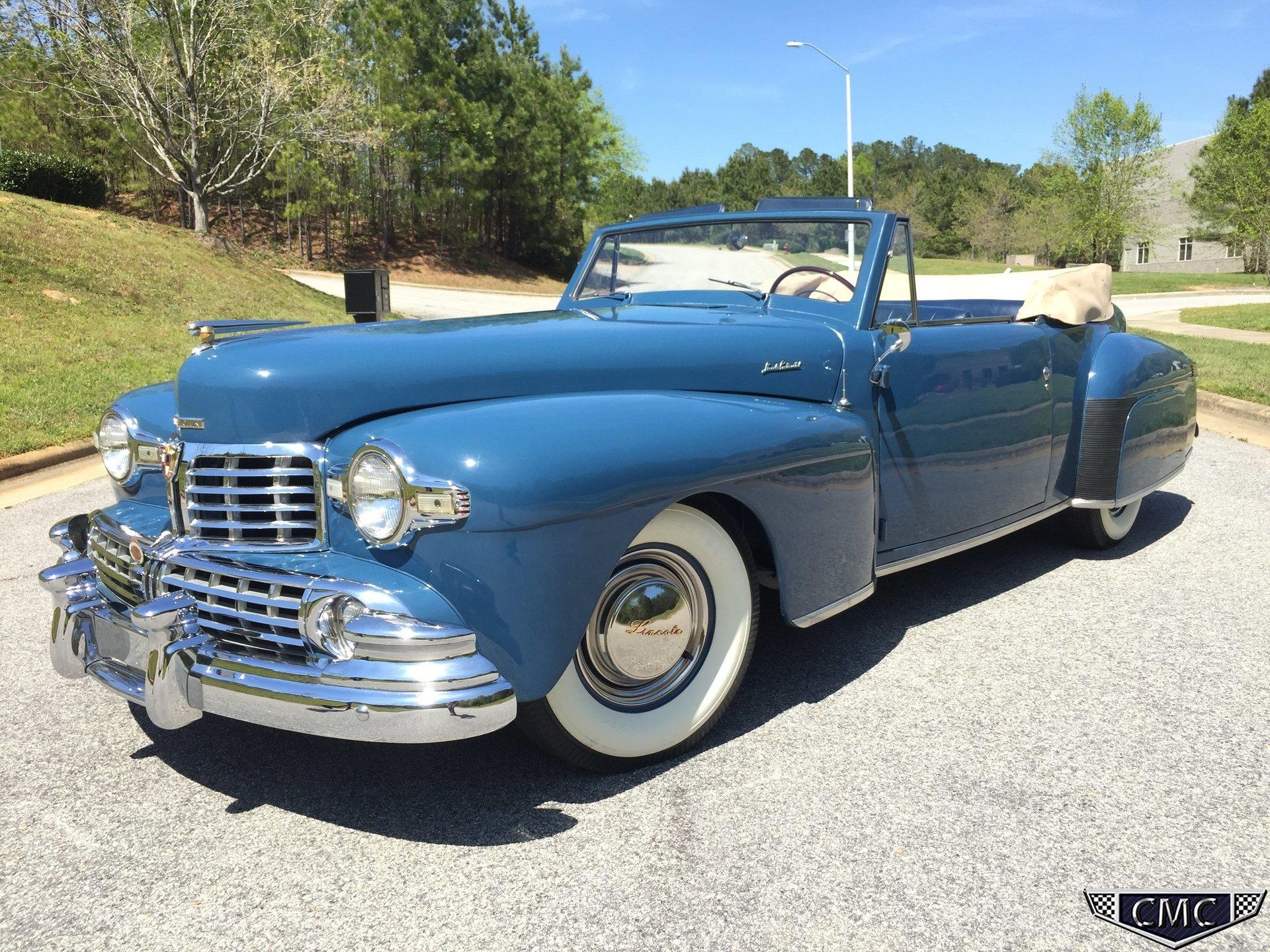 1948 Lincoln Continental | Carolina Muscle Cars Inc.